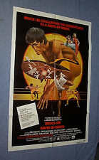 Original Bruce Lee GAME OF DEATH Movie Theater 1 Sheet NEAR MINT-MINT