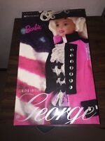 Barbie as George Washington 1996 American Beauties NRFB #17557 Limited Edition