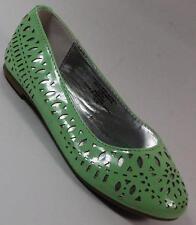 NEW Girls Youth SODA AMBRE Mint Green Flat SlipOn Dress Shoes SZ 11