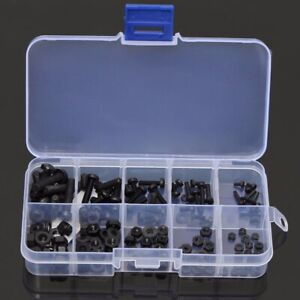 150pz Set Nylon Vite a testa esagonale dado Distanziatore Kit M2/M2.5/M3/M4/M5