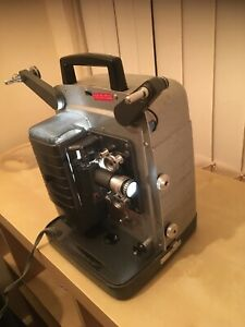 VINTAGE WORKING GB BELL & HOWELL PROJECTOR 4 MOVIES THUNDERBIRDS & SPLICER L@@K