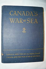WW2 Canadian Canada's War at Sea RCN Navy Reference Book
