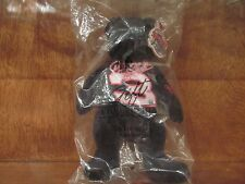 """AVON GIFT COLLECTION SPEED BEANS DALE EARNHARDT #3 BEAR 8"""" NEW IN BAG 2002"""