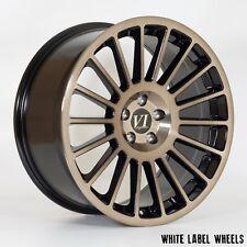 """4x 6PERFORMANCE DTL 18"""" 5x100 et35 alloys fit VW Golf Mk4 POLO SEAT Audi TT A1"""