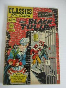 CLASSICS ILLUSTRATED #73 1ST EDITION HRN 75 JULY 1950 f