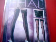 BAS TOP noir et rouge SEXY  marque RICHARD FHAL PARIS - TAILLE 3 stockings