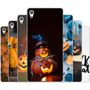 Dessana Halloween TPU Silicone Protective Case Pouch Cover For sony
