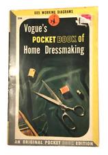 Vogue's Pocket Book of Home Dressmaking 1943