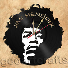 Jimi Hendrix Wall Clock Vinyl Record Clock