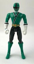 "Power Rangers Samurai Green Ranger 4.25"" Action Figure Bandai 2010"