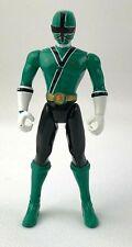 "Power Rangers Samurai Green Ranger 4.25"" Action Figure Bandai 2010"