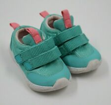 Cat & Jack Baby Girl Aqua Sneakers Shoes Size 5M