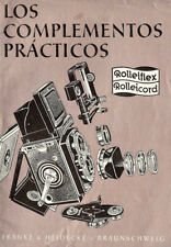 1957 Rollei Rolleiflex & Rolleicord Camera Accessories Brochure -Spanish Text