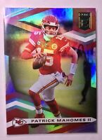 Patrick Mahomes DONRUSS ELITE HOLOFOIL PANINI 2020 CHIEFS FOOTBALL CARD #1