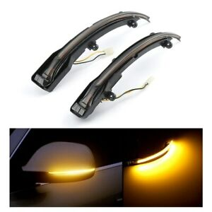 LED Sequential Dynamic Turn Signal Light Side Mirror Lamp For Audi Q5 SQ5 Q7