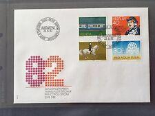 SWITZERLAND FDC 1982 HELVETIA 23.8.1982 Championnat Monde Dressage Heilsarmee