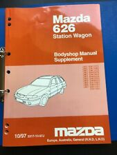 Mazda 626 Station Wagon Bodyshop Manual Supplement 10/97