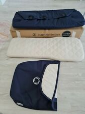 Brand new Bugaboo donkey navy classic collection carrycot / bassinet with apron
