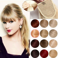 7A Real Remy Human Hair Ponytail Extension Wrap Black Brown Blonde For Woman US