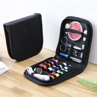10Pcs Travel home sewing kit case needle thread tape scissor set handcraft Wd Ww