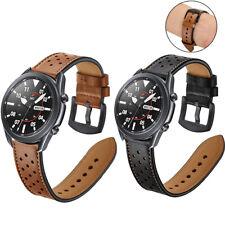 Luxury Genuine Leather Band Sport Casual Wrist Strap For Samsung Galaxy Watch 3