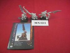 Confrontation I NON MORTI DI ACHERON Zombie Nano x3 2004 in metallo ref MN424