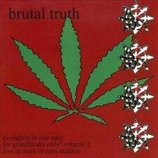 Brutal Truth – Evolution In One Take: For Grindfreaks Only! Vol 2 (*CD, 2009)