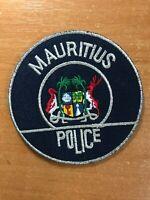 MAURITUS PATCH POLICE NATIONAL - ORIGINAL!