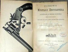 FARROW'S MILITARY ENCYCLOPEDIA WAR WEAPONS Cannon Guns Rifles Bombs Map History