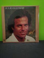 JULIO IGLESIAS HEY LP Record Album Vinyl SEALED
