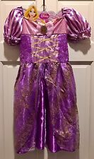 New Disney Princess Rapunzel Halloween Costume 4-6x~ship free