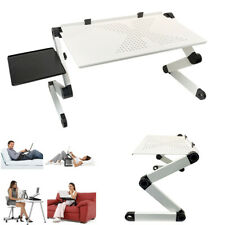 Foldable Laptop Computer Notebook Desk Table 360° Adjustable Stand Sofa Bed