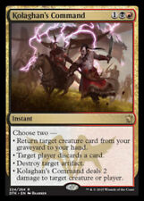 1 x KOLOGHAN'S Command - Raro - Draghi Of Tarkir Mtg - NM - Magic The Gathering