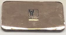 "NIKKEN Kenko Pad Card Gold 2"" x 3.23"" NEW~"