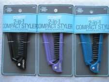 Conair Compact Styler Folding Pocket Travel Size Purse Hair Brush Comb On the Go