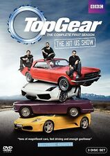 TOP GEAR USA Season 1 (2010-2011): Tanner Foust US TV Season Series - NEW DVD R1