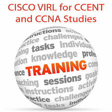CISCO VIRL for CCENT and CCNA Studies  - Video Training Tutorial DVD