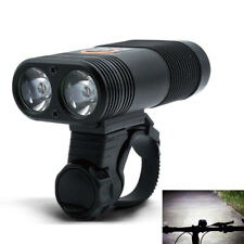 New Bicycle Headlight USB Rechargeable 2*Cree LEDs 800 Lumen Bike Front Light