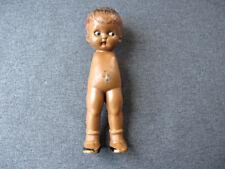 Vintage knickerbocker black doll no arms for repurpose
