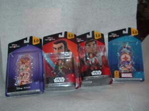 Disney Infinity 3.0 Edition: Star Wars Figures Power Disc lot