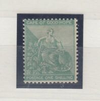 Cape of Good Hope QV 1894 1/- Green Mint MLH Gum J1001