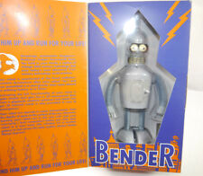 FUTURAMA Robot Action Toy - BENDER Wind-up Aufziehspielzeug Blechfigur ROCKET L