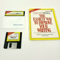 Vintage Grammitic Word Perfect Windows software Spell Checker 1991