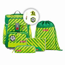 Step by Step Space Neon Schulranzen-Set 5tlg Funky Soccer