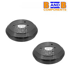 SMART 450 42 CABRIO ROADSTER BRAKE DRUM PAIR C123