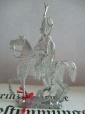 VINTAGE VERY RARE LARGE FLAT LEAD NAPOLEONIC SOLDIERS '' FRENCH  ''