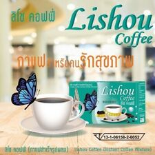 6X Instant coffee Lishou Weight Control Reduce fat accumulating Natural Extracts
