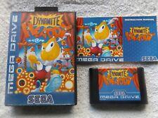 Dynamite HEADDY SEGA Mega Drive PAL v.g.c. rápido post (juego de plataforma)