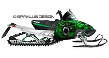 Arctic Cat Crossfire - M Series sled wrap graphic kit Hells Fury