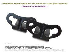 2 x NEW OEM Windshield Mount Bracket For The Beltronics & Escort Radar Detectors